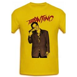 Póló Quentin Tarantino - Férfi XL méret (Sárga)