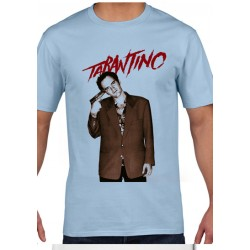 Póló Quentin Tarantino - Férfi M méret (Kék)