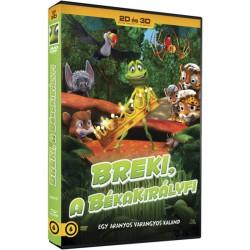 DVD Breki, a békakirályfi