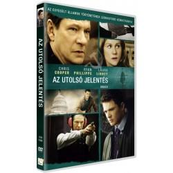 DVD Az utolsó jelentés