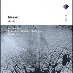 CD Mozart: Arias by Andrea Rost