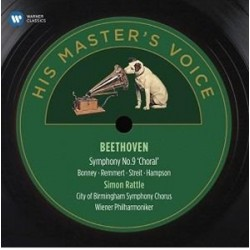 CD Beethoven - Simon Rattle: Symphony No. 9.