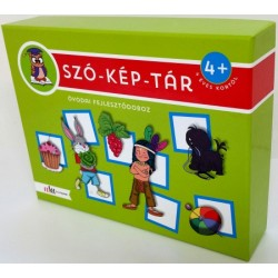 SZÓ-KÉP-TÁR óvodai fejlesztődoboz - 4 éves kortól