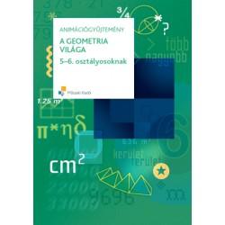 A geometria világa 5-6. osztályosoknak animációgyűjtemény CD-ről indítható