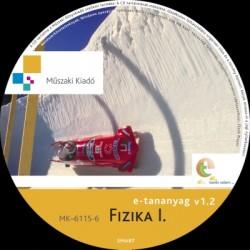 Fizika I. középiskolák számára interaktív tananyag CD