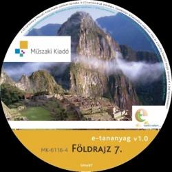 Földrajz 7. interaktív tananyag CD
