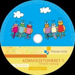 Környezetismeret 1. interaktív tananyag CD