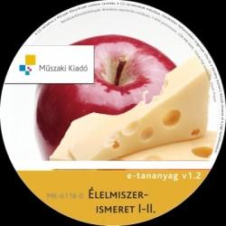 Élelmiszerismeret I-II. interaktív tananyag CD