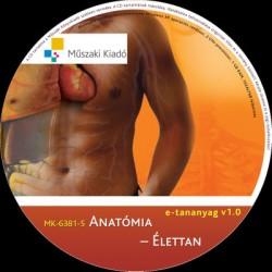 Anatómia - élettan e-tananyag CD