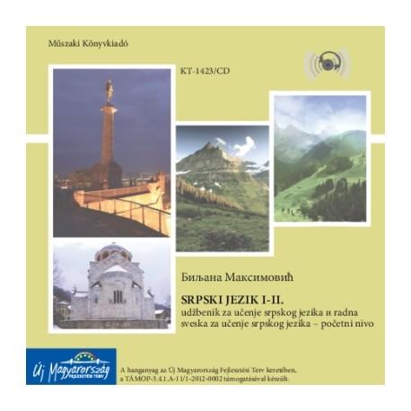 CD Srpski Jezik I-II. (Szerb nyelvi előkészítő 1-2. hanganyag)