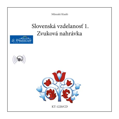 CD Slovenská vzdelanost 1. Zvuková nahrávka