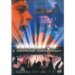DVD Junkies 10 - X. születésnapi koncert