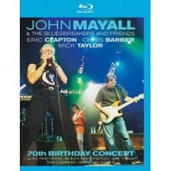 Blu-ray John Mayall & The Bluesbreakers and Friends: 70th Birthday Concert