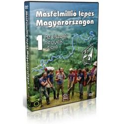 DVD Másfélmillió lépés Magyarországon 1
