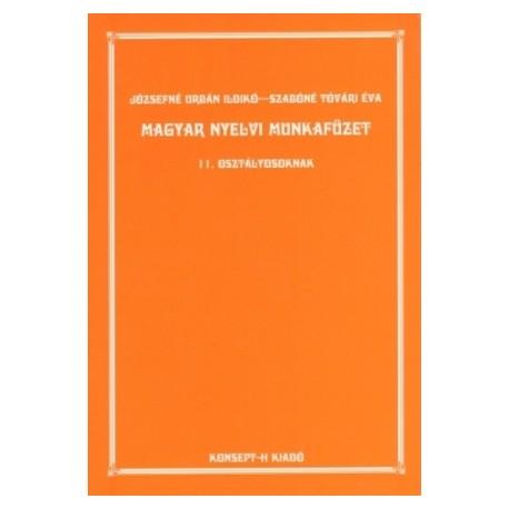 Magyar nyelvi munkafüzet 11.