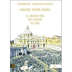 DVD Nehéz idők pápái (3 filmes díszdoboz)