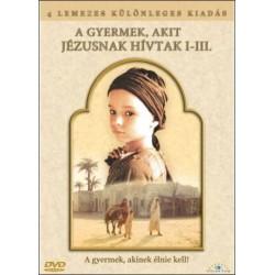 DVD A gyermek akit Jézusnak hívtak I-III. díszdoboz (4DVD)