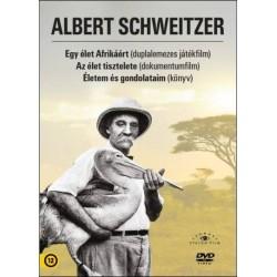 Albert Schweitzer Könyv+DVD díszdoboz