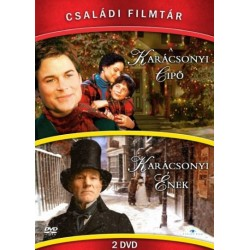 DVD Családi Filmtár Gyűjtemény 1. (A karácsonyi cipő - Karácsonyi ének 2DVD)