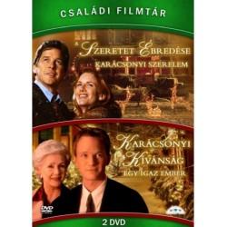 DVD Családi Filmtár Gyűjtemény 3. (A szeretet ébredése - Karácsonyi kívánság 2DVD)