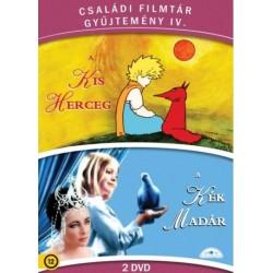 DVD Családi Filmtár Gyűjtemény 4. (A kis herceg - A kék madár 2DVD)