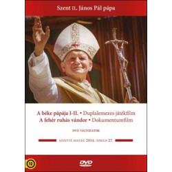 DVD Szent II. János Pál pápa díszdoboz (A béke pápája, A fehér ruhás vándor 2DVD)