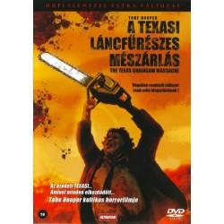 DVD A texasi láncfűrészes mészárlás (duplalemezes extra változat)