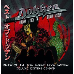 CD Dokken: Return to the East Live (2016) (Deluxe Edition CD+DVD)