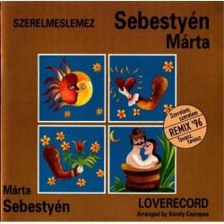 CD Sebestyén Márta: Szerelmeslemez