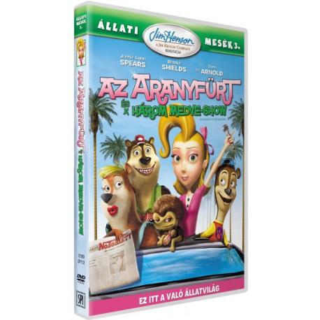 DVD Az aranyfürt és a három medve-show
