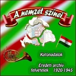 CD A nemzet színei - Katonadalok