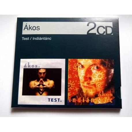CD Ákos: Test/Indiántánc (2CD)
