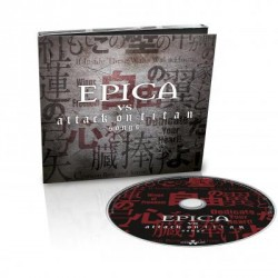 CD Epica: Epica vs. Attack On Titan Songs (Limited Digipak)