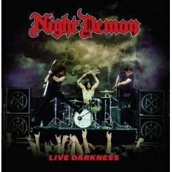 CD Night Demon: Live Darkness (2CD Digipak)