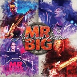 CD Mr. Big: Live From Milan (Deluxe Edition 2CD+Blu-ray)