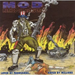CD M.O.D.: Loved By Thousans... Hated By Millions