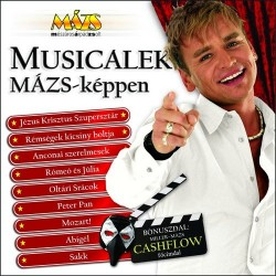 CD Musicalek Mázs-képpen