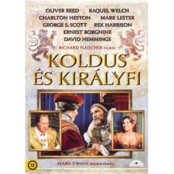 DVD Koldus és királyfi