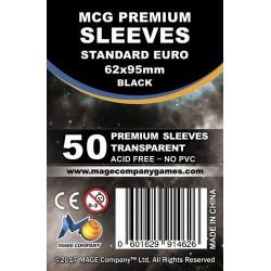 MCG Premium Standard Euro kártyavédő (62x95mm, 50 db/csomag)