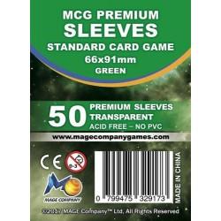 MCG Premium Standard Card Game kártyavédő (66x91mm, 50 db/csomag)