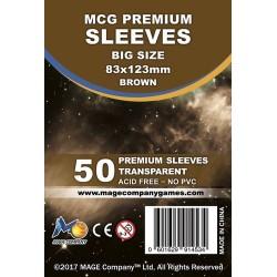 MCG Premium Big Size kártyavédő (83x123mm, 50 db/csomag)