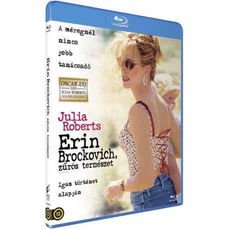 Blu-ray Erin Brockovich, zűrös természet