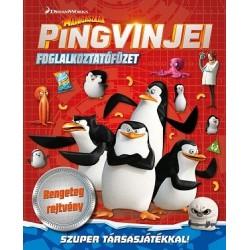 DreamWorks - Madagaszkár pingvinjei foglalkoztatófüzet