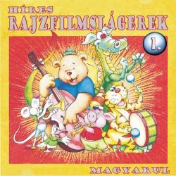 CD Híres rajzfilmslágerek 1.