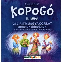 Kopogó II. kötet (212 ritmusgyakorlat zeneiskolásoknak)