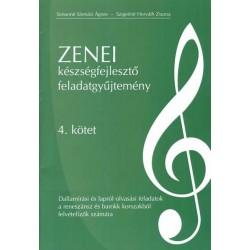 Zenei készségfejlesztő feladatgyűjtemény 4. kötet