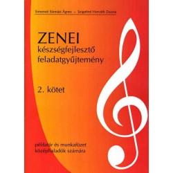 Zenei készségfejlesztő feladatgyűjtemény 2. kötet