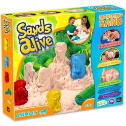 Sands Alive állatok a homokozóban