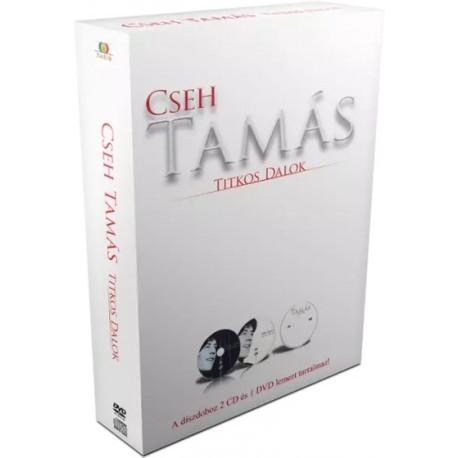 DVD Cseh Tamás: Titkos dalok (DVD+2CD Digipak díszdoboz)