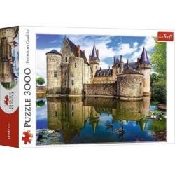 Sully-sur-Loire kastély, Franciaország puzzle 3000 darabos